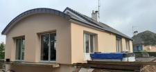 Construction d'une extension par le Cabinet d'Architecte C.T.A (Caroline Thibault Architecte) en Normandie et Picardie