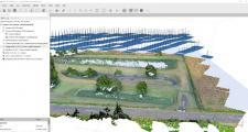 Photogrammétrie droned'une station d'épuration : calcul de cubatures et coupes