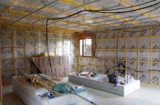 Etanchéité à l'air et ossature bois pour une extension de maison individuelle 76 Rouen Saint-Saëns