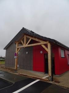 Le pavillon des kinés: Livraison de chantier en fin d'année 2016: cabinet de kinésithérapie à Saint Pierre de Varengeville, près de Rouen 76