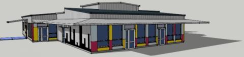 Rénovation Energétique d'une école maternelle dans la Somme par le cabinet C.T.A Caroline THIBAULT Architecte