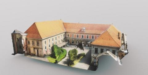 Modèle 3D numérique par photogrammétrie drone (Modélisation) par le cabinet d'architecte C.T.A