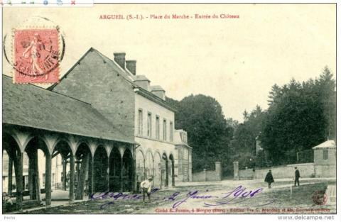 Rénovation de l'ancienne halle d'Argueil