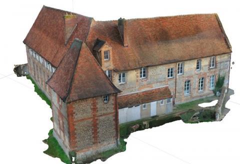 Modélisation 3 Dimensions grâce à la photogrammétrie par imagerie drones.