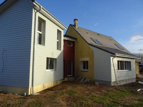 Livraison extension maison individuelle 76 Dieppe et Saint Saens