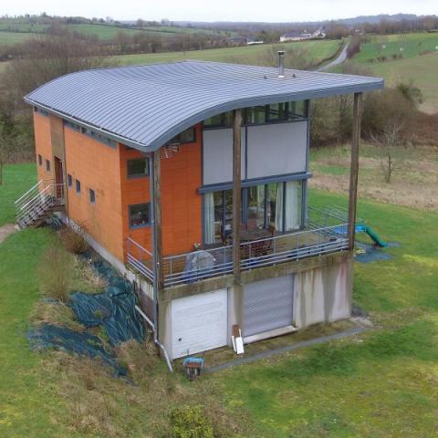 Activité construction Maisons : LES MAISONS CAROLINE THIBAULT ARCHITECTE