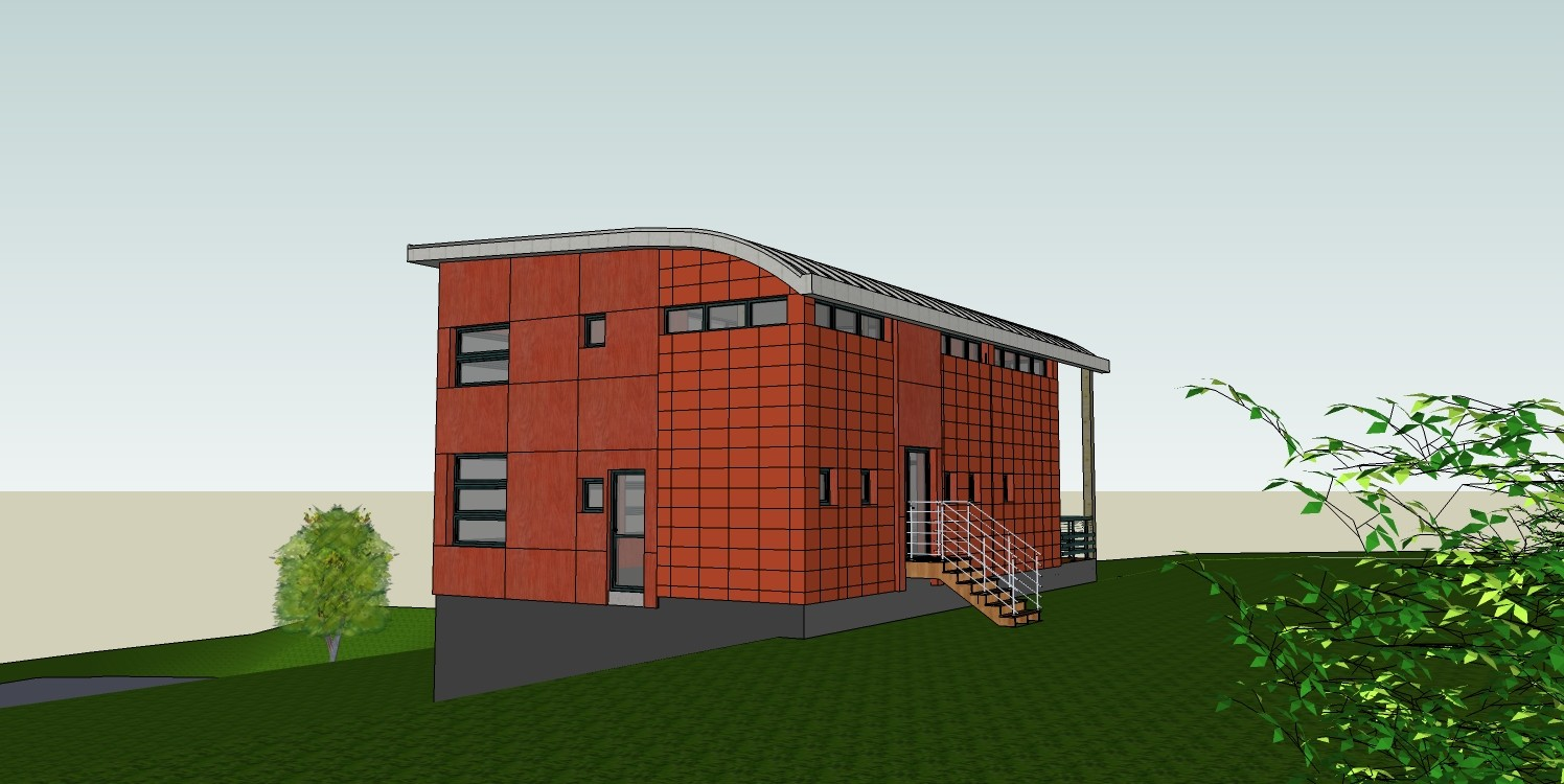 Construction d 39 une maison contemporaine d 39 architecte for Une architecte