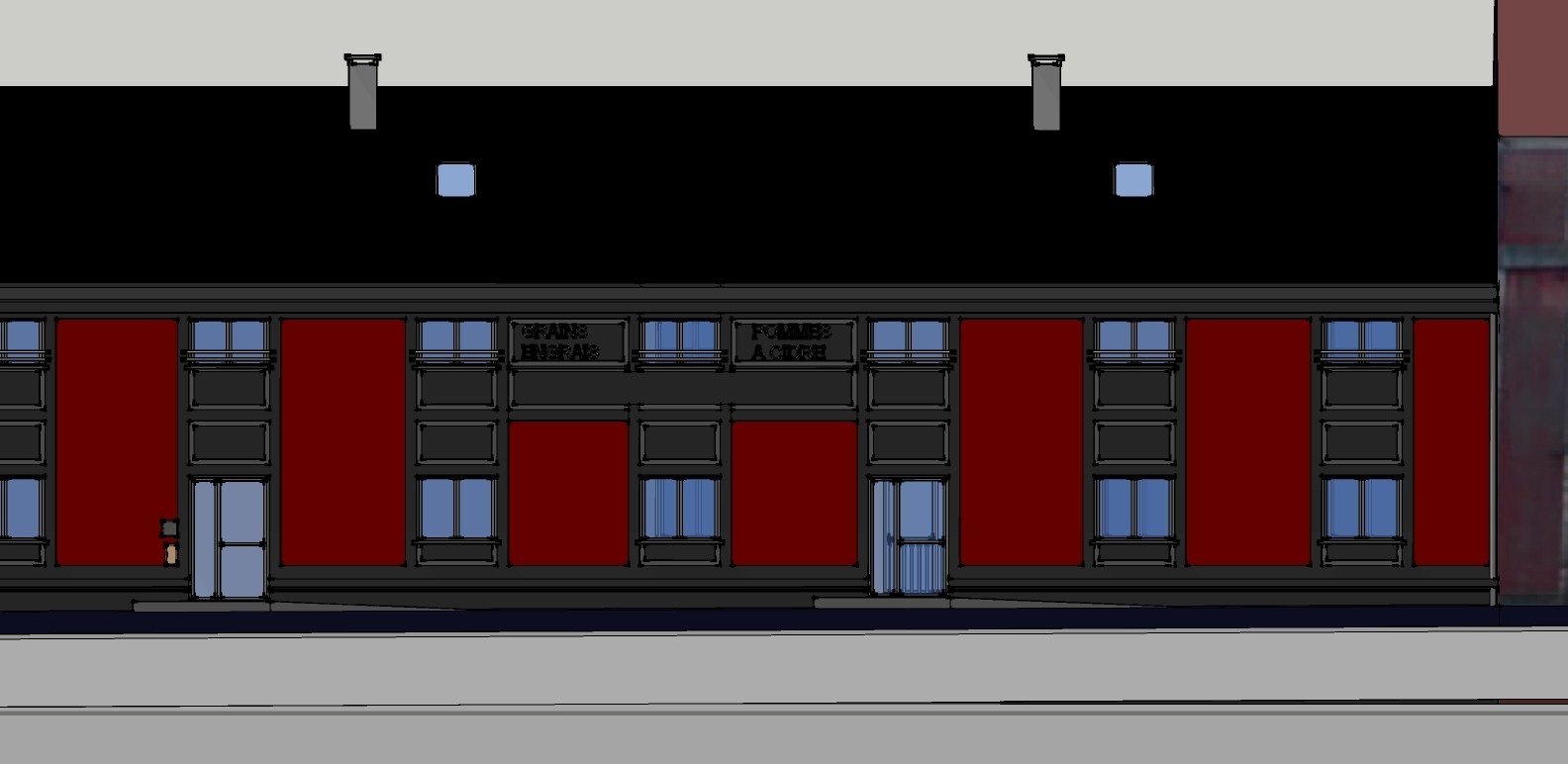 r habilitation et reconversion d 39 un entrep t en logements logement evreux le havre. Black Bedroom Furniture Sets. Home Design Ideas