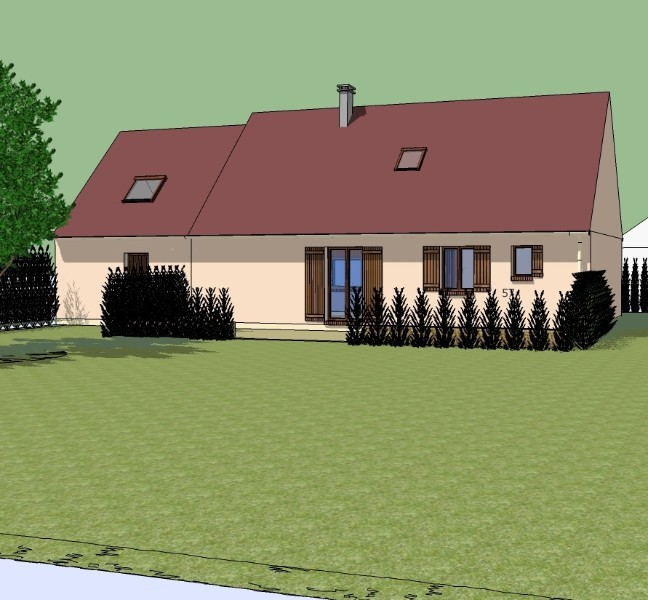 extension d 39 une maison individuelle c t de forges les eaux logement evreux le havre. Black Bedroom Furniture Sets. Home Design Ideas