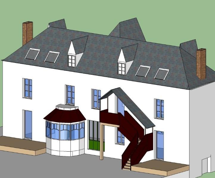projet de transformation d 39 une grande maison familiale en 4 logements dans l 39 oise logement. Black Bedroom Furniture Sets. Home Design Ideas