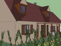 Extension d'une maison individuelle à côté de Forges-les-Eaux