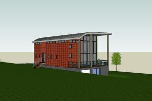 Construction d'une maison contemporaine d'architecte