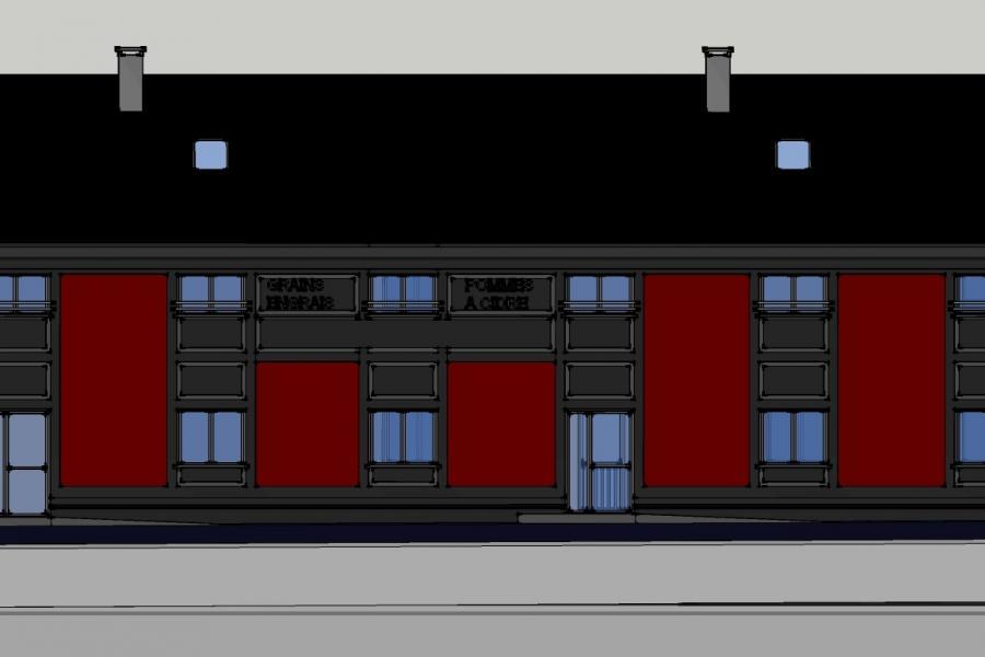 Réhabilitation et reconversion d'un entrepôt en logements