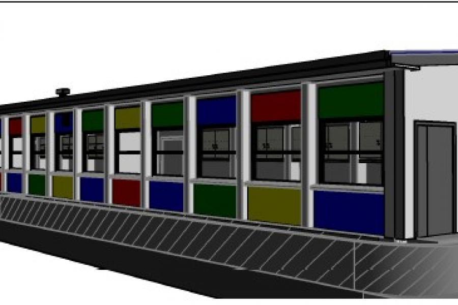 Restructuration et rénovation d'un groupe scolaire (trois classes primaires)